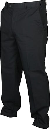 Mens Premium Rib Chino Trouser Casual 100/% Cotton 32-54  Active Waist