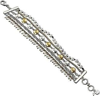 733cf2b5fc2 Lucky Brand Lucky Layer Pearl Bracelet (Two-Tone) Bracelet