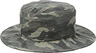 Brixton Mens Stow Bucket Hat, Camo, Small