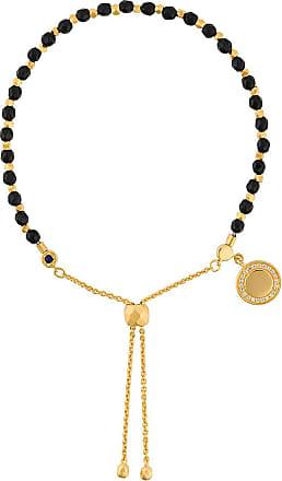 Astley Clarke Pulseira Kula de ônix e ouro 18kt - Preto