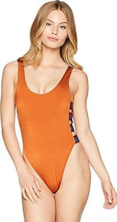 163fbc1e4ac6e The Bikini Lab Juniors Side Strappy One Piece Swimsuit, Sienna//Route, Large