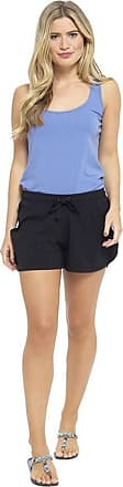 Tom Franks Ladies Cotton Rich Jersey Shorts Black 16-18