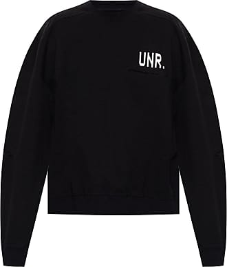Unravel Sweatshirt With Logo Mens Black