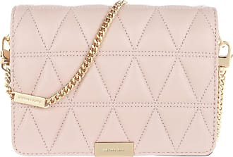 Michael Kors Cross Body Bags - Jade Medium Gusset Clutch Soft Pink - rose - Cross Body Bags for ladies
