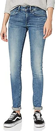 G Star 3301 Deconst Low Skinny Jeans Womens raw denim