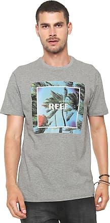 Reef Camiseta Reef Breeze Cinza