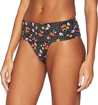Pour Moi? Womens Hot Spots Fold Over Brief Bikini Bottoms, Multicolour (Ditsy Ditsy), 28 (Size:16)