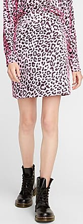 Icone Pink leopard skirt