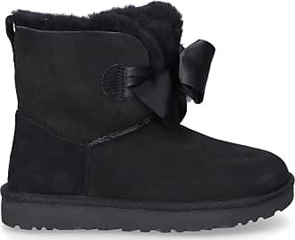 UGG Ankle Boots Black GITA BOW