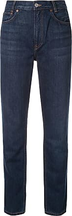 Re/Done high-waist fitted jeans - Blue