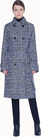 Akris Angora Coat in A Shape with Belt