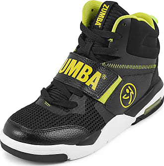 Zumba Air Classic Remix High Top Fitness Workout Dance Shoes for Women, Black 1, 5.5 UK