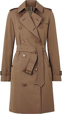 Burberry Trench coat Tropical de gabardine - Marrom