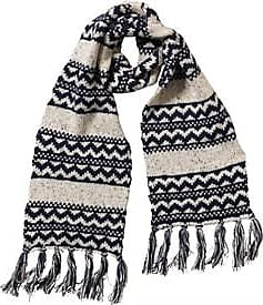 Onfire knitted scarf with tassel trim