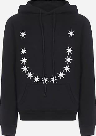 424 Felpa Stars Embroidery in cotone con cappuccio - 424 - uomo