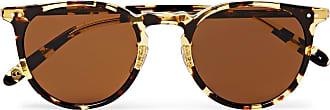 Garrett Leight Ocean 46 Round-frame Tortoiseshell Acetate Sunglasses - Brown
