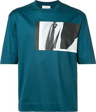 Cerruti photo-print T-shirt - Green