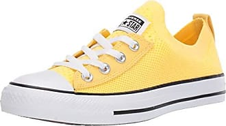 Converse Womens Chuck Taylor All Star Shoreline Knit Slip On Sneaker Butter Yellow/White/Black 8.5 M US