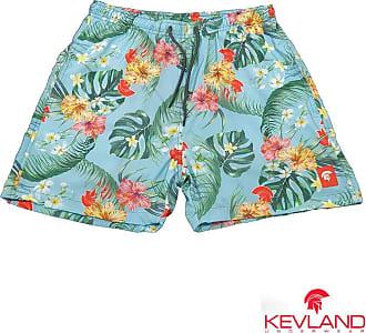 Kevland Underwear Short Kevland Floral Blue Tamanho:GG;Cor:Azul
