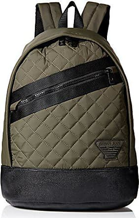 A|X Armani Exchange Armani Jeans Mens Quilted Fabric Backpack