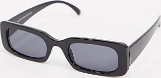 New Look rectangle sunglasses in black