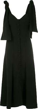 Andrea Bogosian Vestido midi Rabban couture - Preto