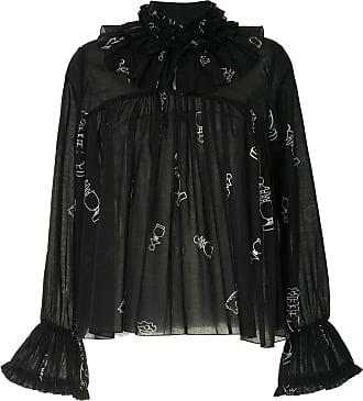 Karen Walker Blusa Bad Bishop - Di colore nero