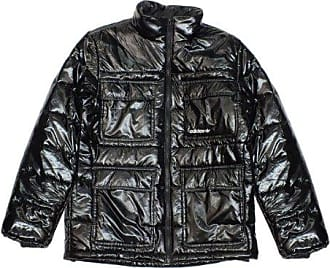 adidas X51289 Adidas Originals Shiny Padded Jacket Black M a08edfb8eb