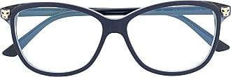 Cartier Armação de óculos quadrada - Azul