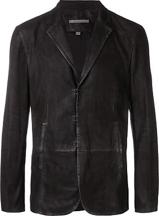 John Varvatos concealed front blazer - Black