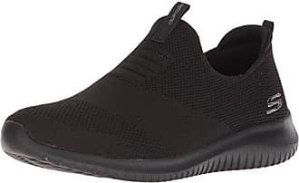buy online 549f8 bdae7 Skechers Ultra Flex-First Take, Baskets Enfiler Femme, Noir (Black BBK)
