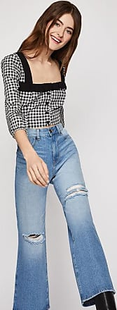 BCBGeneration Distressed Cropped Jean