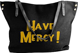 Juju Have Mercy Womens Classic Shoulder Portable Big Tote Handbag Work Canvas Bags