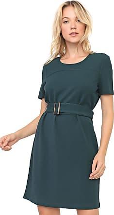 Vero Moda Vestido Vero Moda Curto com Cinto Verde