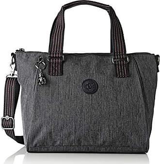 7422b4dc8 Kipling Amiel, Bolsos maletín Mujer, Azul (Active Denim)