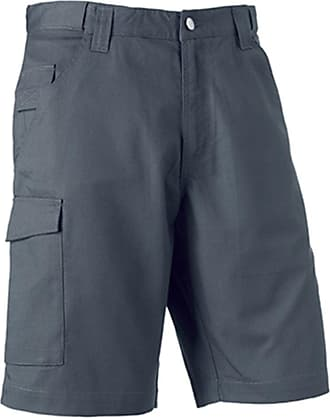 Russell Athletic Russell Workwear Work Shorts : Color - Convoy Grey : Size - 40