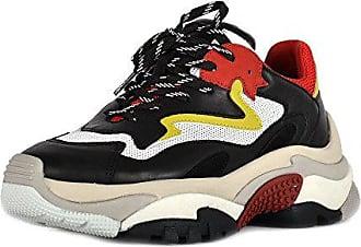 Ash Footwear Schuhe Addict Sneaker Rot und Schwarz Damen