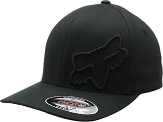 76ffd212 Fox Mens Flex 45 Flexfit Hat, Black, XX-Large