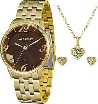 Lince Relógio Lince Feminino Ref: Lrg4604l Kw09n2kx Dourado + Semijóia