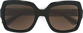 Gucci Óculos de sol armação quadrada - Preto