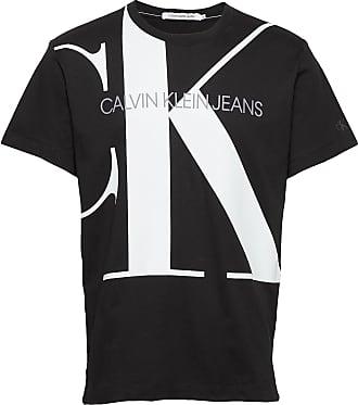 Calvin Klein Jeans Upscale Monogram Log T-shirts Short-sleeved Svart Calvin Klein Jeans