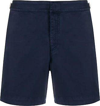 Orlebar Brown buckle chino shorts - Blue