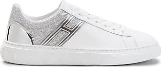 Hogan Sneakers H365, ARGENTO,BIANCO, 34.5 - Scarpe