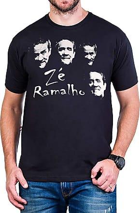 Bandalheira Camiseta Ze Ramalho Faces Preta