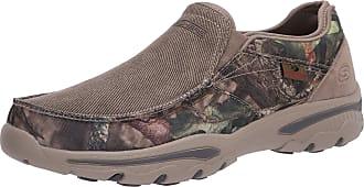 Skechers Mens Creston-Moseco Slip On Canvas Loafer, Camouflage, 8.5 Medium US