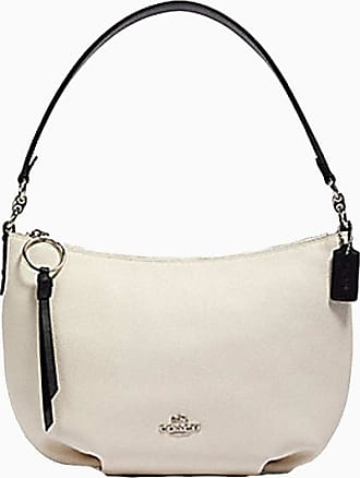Coach NY Colorblock Small Leather Skylar Hobo Shoulder Purse - Chalk