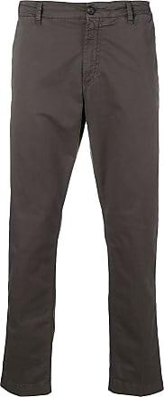 White Sand straight-leg trousers - Cinza
