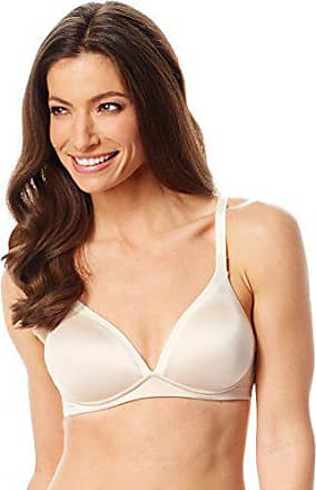 Warner's Womens Back to Smooth Witefree Contour Bra, Butterscotch/Vanilla, 38D