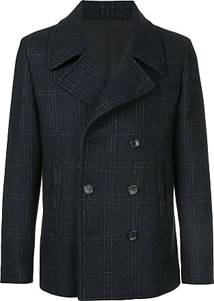 Cerruti double breasted coat - Blue