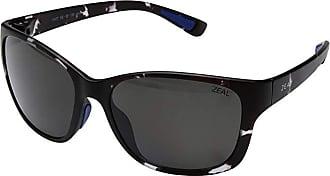 Zeal Optics Magnolia (Smoke Tortoise w/ Polarzied Dark Grey Lens) Athletic Performance Sport Sunglasses